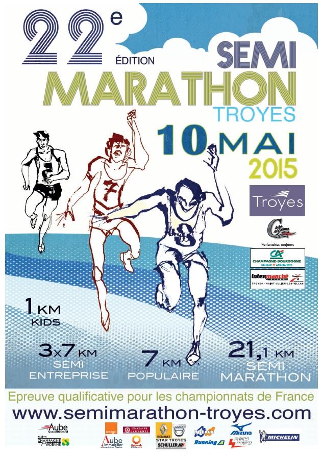 Affiches Semi-marathon 2015